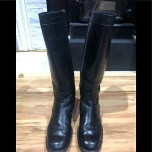 All leather Santana Canada tall boots excellent